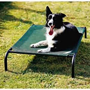 Coolaroo Elevated Pet Bed with Knitted Fabric $22.50