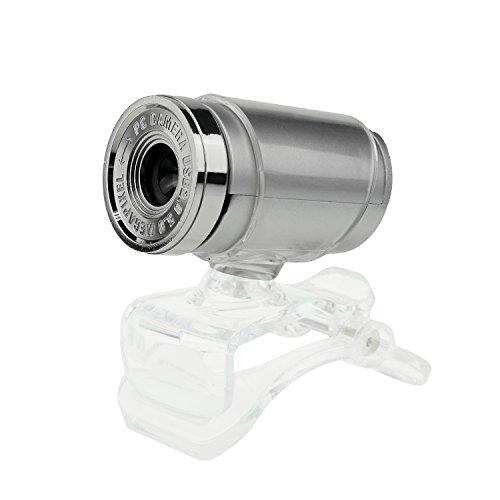 JideTech USB 2.0 HD Webcam 12MP avec microphone Haut et Bas 30 degrés Rotatif portable de soutien et de bureau