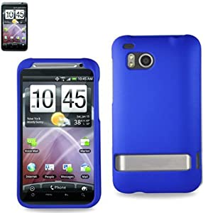 Reiko RPC10-HTC6400NV Slim and Durable Rubberized Protective Case for HTC Incredible HD 6400 - Retail Packaging - Navy
