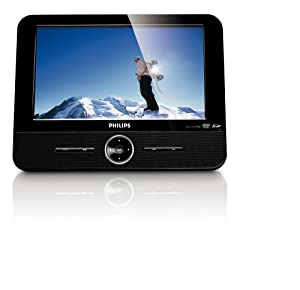 Philips DCP851 8.5-Inch Portable DVD Player with Ipod Dock