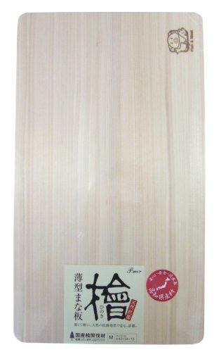 檜薄型まな板 M