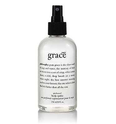 pure grace body spritz | perfumed body spritz | philosophy