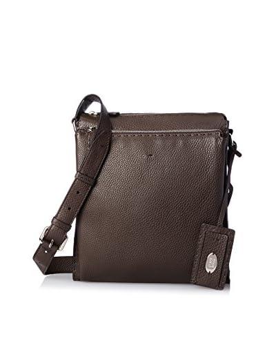 Fendi Men's Messenger Bag, Ebano