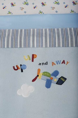 Kids Line Come Fly With Me Cot/Bed Boa Blanket