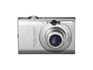 Canon PowerShot SD770 IS 10MP Digital Camera with 3x Optical Image Stabilized Zoom (Silver)