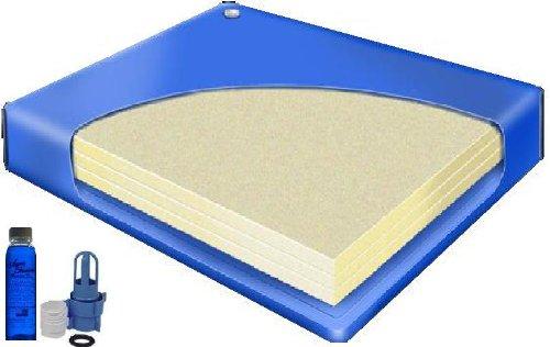 Super Single 48 x 84 80% Waveless Hardside Waterbed