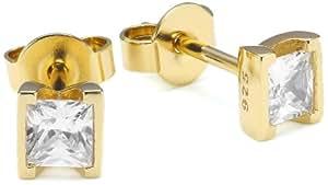 Esprit Jewels Damen-Ohrstecker solitaire gold 925 Sterling Silber ESER92321B000