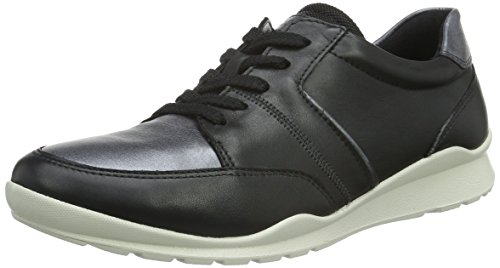 Ecco ECCO MOBILE III, Sneakers Donna, Nero (BLACK53994), 39 EU