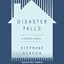 Disaster Falls: A Family Story Audiobook by Stephane Gerson Narrated by Will Damron