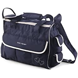 Chic 4 Baby 40559 - Wickeltasche luxury Classic Line navy