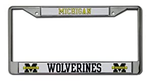 Buy Michigan Wolverines Chrome Frame by Rico