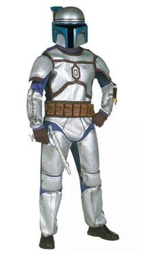Star Wars Jango Fett Costume Deluxe Boy - Small