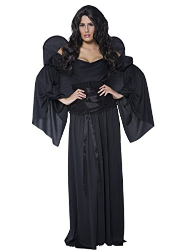 Smiffys Adult Dark Gothic Fallen Angel Womens Halloween Costume