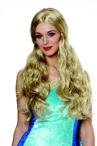 Goddess Wig (Blonde) Deluxe Adult Halloween Costume Accessory