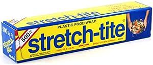 Stretch-tite Plastic Food Wrap 500 Square Feet