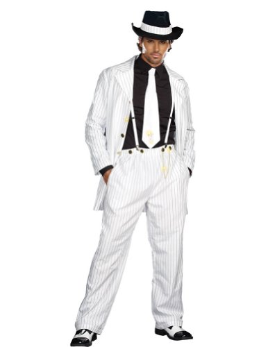 Zoot Suit Adult Costume Md 38-40 Adult Mens Costume