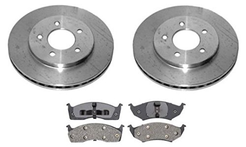 Ford Expedition 2003-2006 Front /& Rear  Rotors /& Ceramic Pads Drill /& Slot