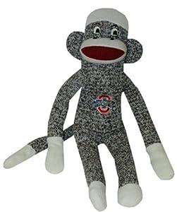 NCAA Ohio State Buckeyes Plush Sock Monkey at 'Sock Monkeys'