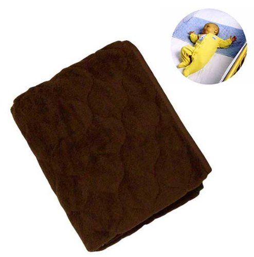 NOJO Sheet Saver Coral Fleece - Brown