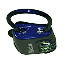Master Lock 4688DBLU TSA Accepted Cable Luggage Lock, Blue