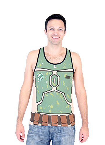 Star Wars I Am Boba Fett Adult Costume Tank