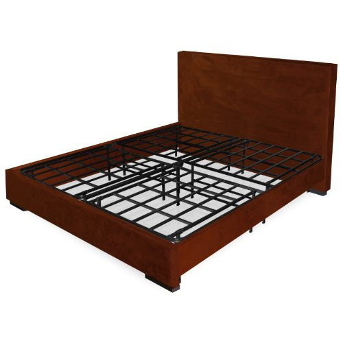 Off for sleep master elite platform metal bed frame mattress foundation queen bed - Extra tall bed frame queen ...