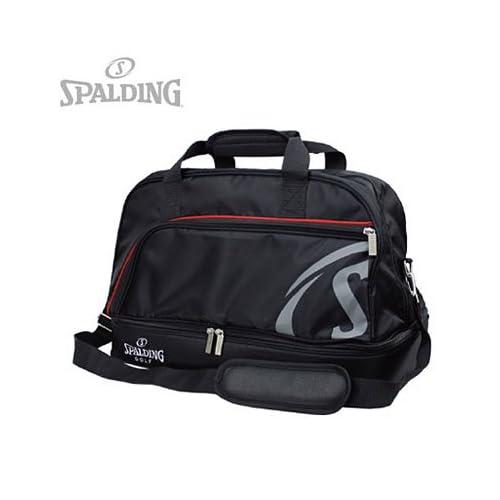 スポルディング ボストンバッグ SPBB-300 2段式 [カラー:ブラック] #51926-01301