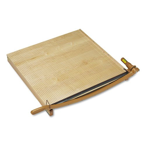 """Swingline Classiccut Ingento Solid Maple Paper Trimmer, 15 Sheets, Maple Base, 30"""" X 30"""" front-529341"""