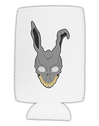 [TooLoud Scary Bunny Face Collapsible Neoprene Tall Can Insulator] (Frank The Bunny Costume High Quality)