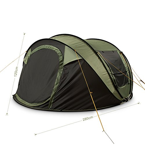 ... FiveJoy-Instant-4-Person-Pop-Up-Tent-Set-  sc 1 st  Outdoor Store & FiveJoy Instant 4-Person Pop Up Tent u2013 Set Up in Lightning Speed ...