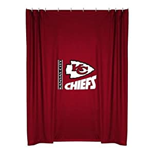 NFL Kansas City Chiefs Shower Curtain by Sports Coverage