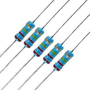 Amazon Com 20 X 1 2w Watt 220k Ohm 220kr Carbon Film Resistor 0 5w Home Improvement