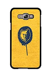 Caseque The Yellow Lion Back Shell Case Cover for Samsung Galaxy E5