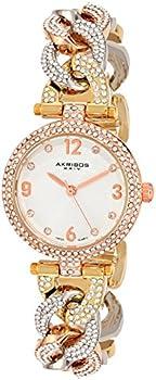 Akribos Women's Multi-Tone Watch