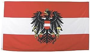 Fahne, Österreich, Polyester, Größe 90 x 150 cm