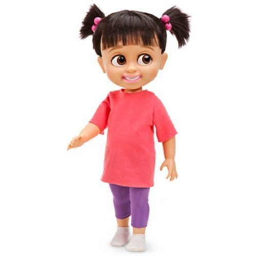 [Disney Pixar Monsters, Inc Deluxe Talking BOO Toddler Doll -- 15'' H (2012) by Disney] (Boo Monsters Inc Costume Toddler)