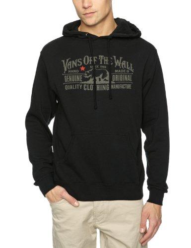 Vans Van Doren Co. Pullover Hoodie Men's Sweatshirt Black Medium