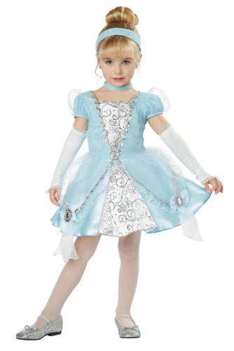Disney Princess Toddler Deluxe Cinderella Girls Costume