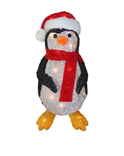 National Tree Company 20.5 Fabric Tinsel Penguin