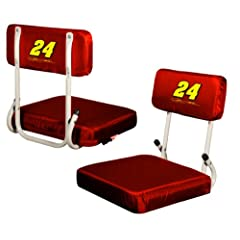 Nascar Jeff Gordon Hard Back Stadium Seat by Logo