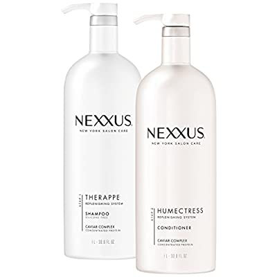 Nexxus New York Salon Care Shampoo and Conditioner, Therappe Humectress 33.8 oz, 2 ct