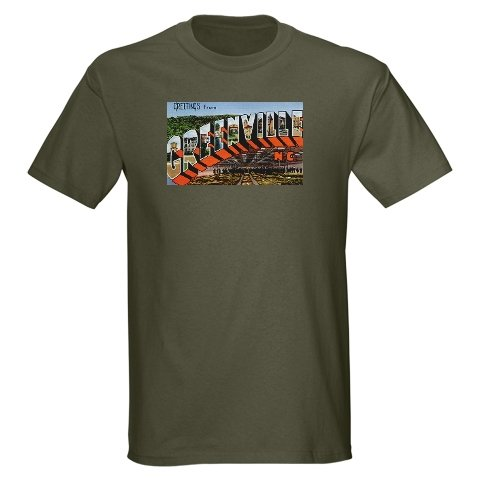 Greenville, North Carolina T-Shirt