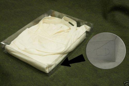 "24 Set 11-1/2X8-1/2X1-5/8"" Plastic Telescope Box Clothes Apparel Packing"