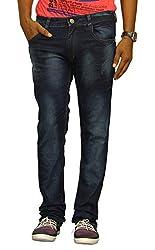 Jugend Blue Washed stretchable Slim Fit jeans for men