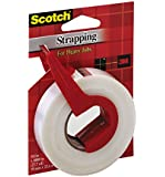Scotch Reinforced Strength Shipping Strapping Tape, 3/4 x 1000 Inches (52)