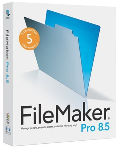 FileMaker Pro 8.5 (5 User Licence) (PC/Mac)