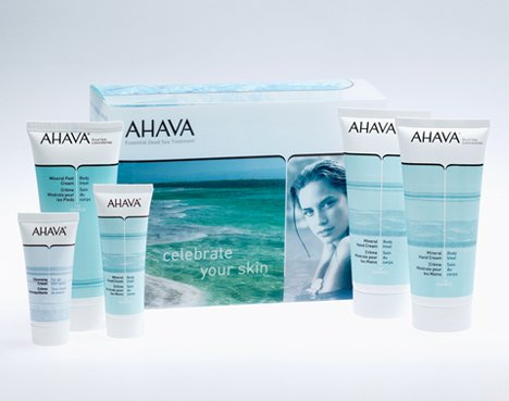 AHAVA Source Celebrate Your Skin Gift Set  $52 Value Ahava Means Love Give the gift of love