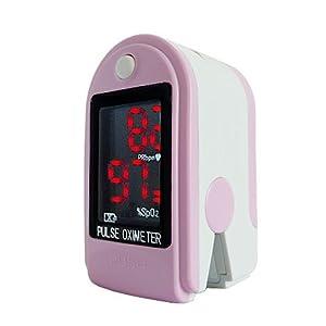 doigt oxymètre SPO2 de pouls & Moniteur de fréquence cardiaque (avec des cordon et batteries)- ecran LED