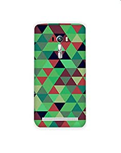 Asus Zenfone2 Leaser ZE550KL nkt02 (68) Mobile Case by Mott2 - Pyramid Design... (Limited Time Offers,Please Check the Details Below)