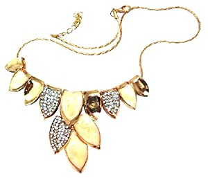 Wedding necklace Gold-tone christmas gift